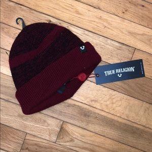 NWT True Religion beanie hat cap